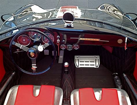 porsche speedster interior dutch porsche 356 speedster replica interior wow cool