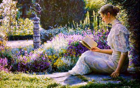 Book Garden by Reading Book Garden Wallpapers Reading Book