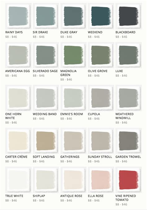 paint colors for fixer fixer joanna gaines released a new line of paint