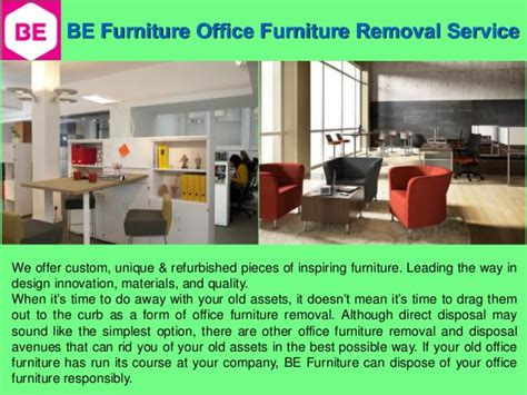 office furniture removal service
