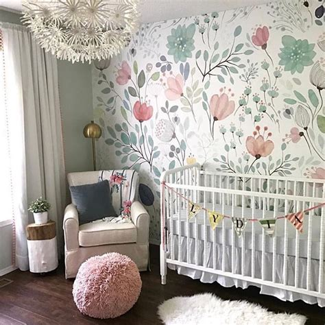 wallpaper for nursery 25 best ideas about accent wall nursery on pinterest