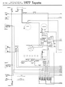 repair manuals toyota land cruiser fj40 55 1977 wiring