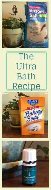 Ultra Detox Bath by Detox The Ultra Detox Bath Recipe