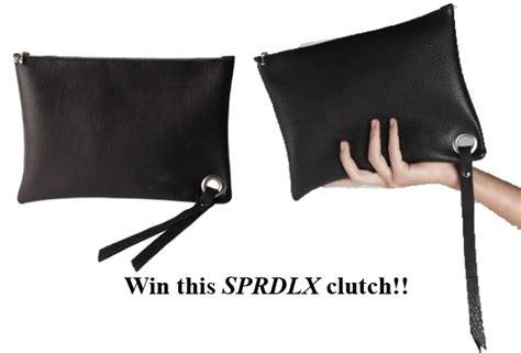 Win This Bag by Win A Sprdlx Black Clutch Bag Bag At You