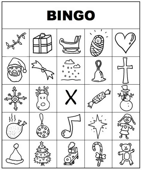 printable christmas bingo cards black and white plain printable bingo cards new calendar template site