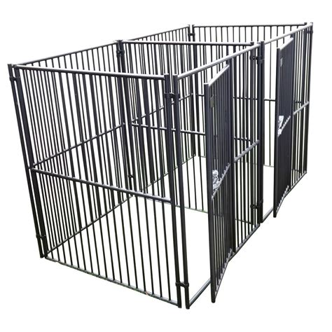 kennel panels shop lucky 5 ft x 5 ft x 6 ft outdoor kennel panels at lowes