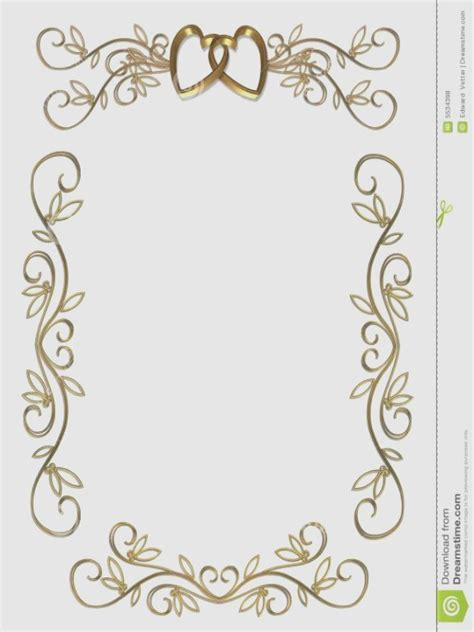 Wedding Invitation Card Border by Wedding Invitation Card Border Designs Gallery