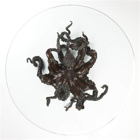 octopus coffee table octopus coffee table with detailed sculpture roy home design