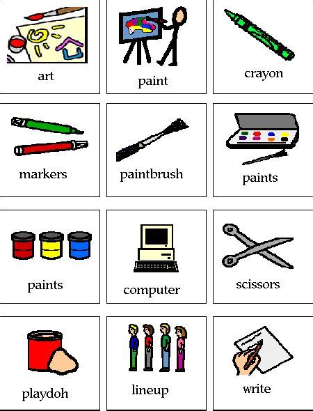 printable pecs pictures 1000 images about preschool visual schedule pecs music
