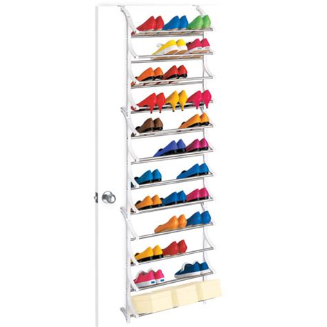 The Door Shoe Rack by 36 Pair Door Shoe Rack In The Door Shoe Racks