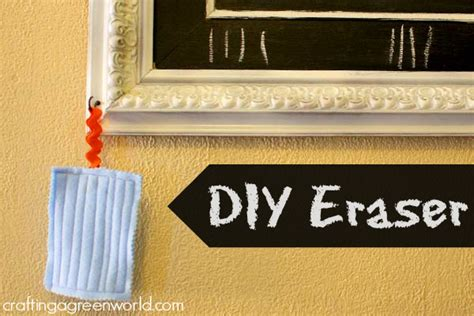 chalkboard cleaner diy how to make an eraser for your diy chalkboard