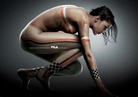 fila database fila sports clothing quot quot print ad by bbdo korea