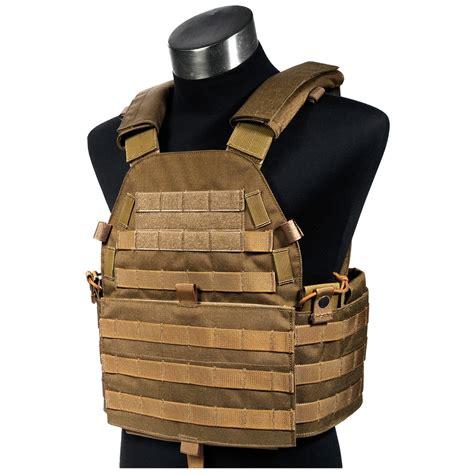 molle vest flyye tactical new molle lt6094 vest modular plate carrier holder coyote brown ebay