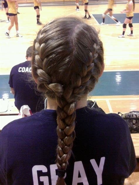 volleyball hairstyles curly hair cute track meet hairstyles hair