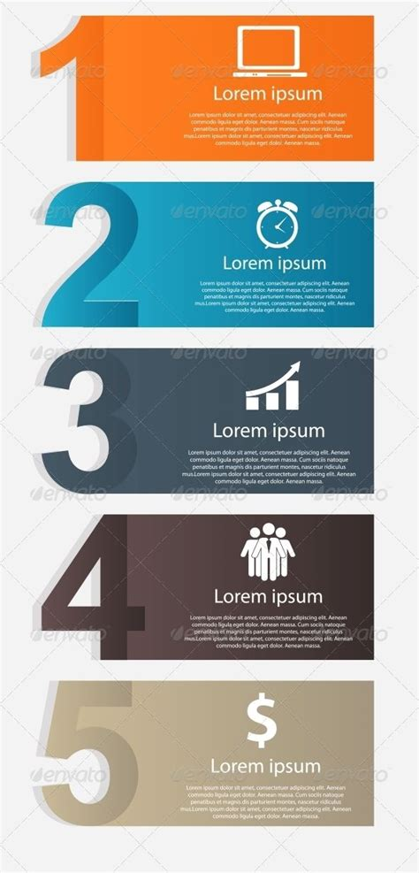 layout of infographic infographics design elements vector illustration ideas