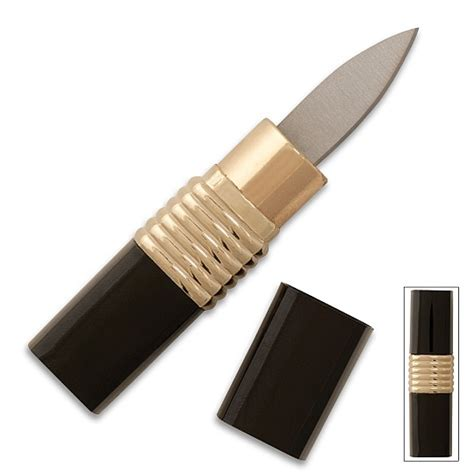 Where To Buy Good Kitchen Knives by Concealed Lipstick Knife Neat Shtuff Neat Shtuff
