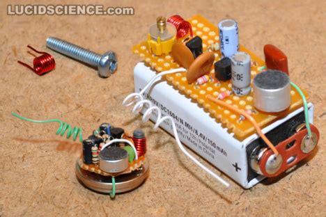 diy radio transmitter diy tiny fm transmitter bugs ubergizmo