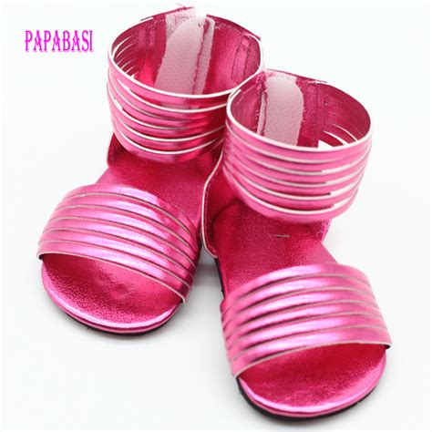 doll shoes 1pair shoes for 18 inch american doll jean 7cm