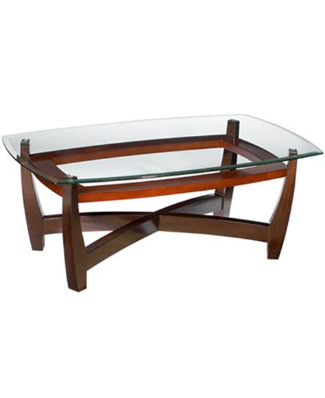 macys coffee tables elation rectangular coffee table furniture macy s