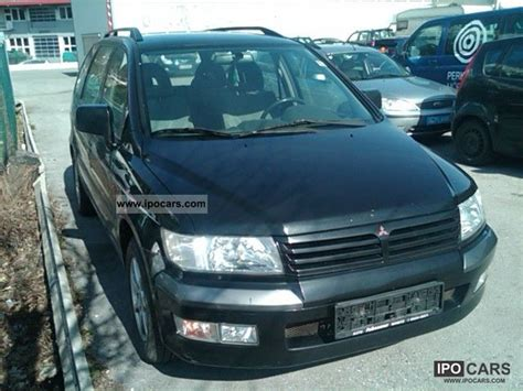 1999 mitsubishi space wagon 4wd 7 seater air car photo