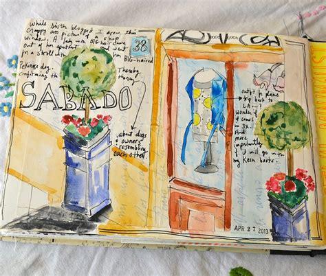 sketchbook journal spoleto travel journal sketchbook