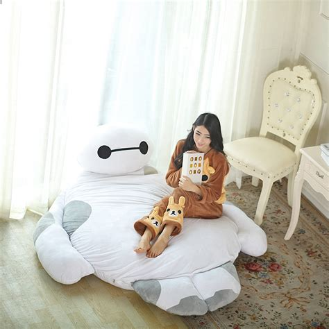cartoon sofa bed giant cartoon mattress big hero 6 cushion plush baymax