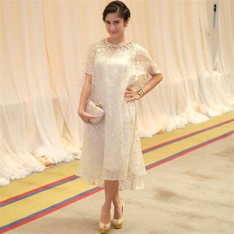 Dress Midi Mini Gaun Brukat Brokat Lace Merah Cantik dian sastro entertainment world kebaya brokat and gowns