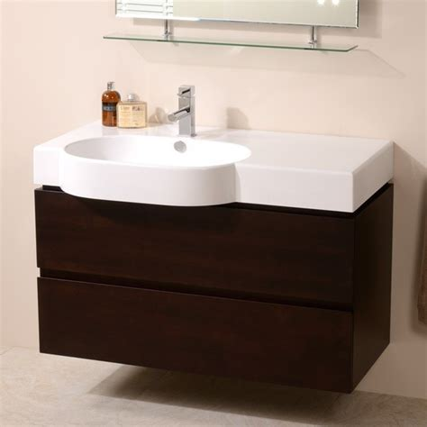 walnut vanity units for bathroom madrid 1000mm walnut vanity unit