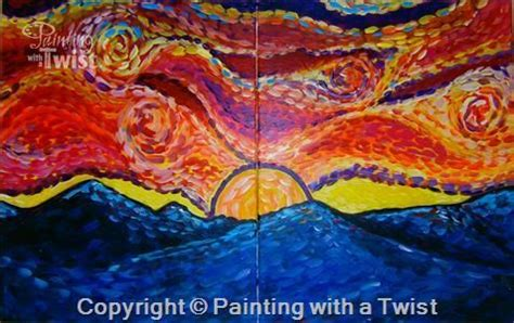 paint with a twist lubbock sat may 16 2015 date gogh s