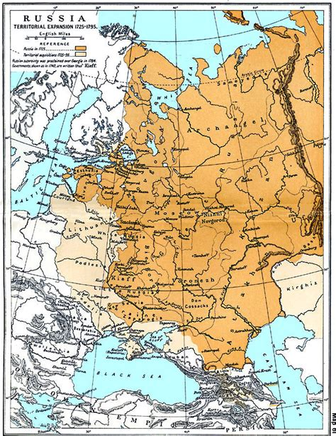 russia on maps maps of russian history