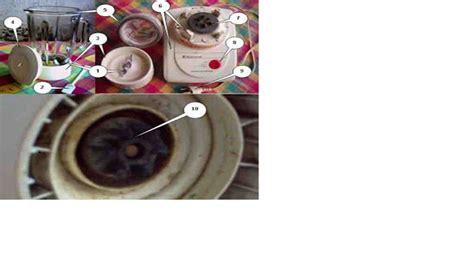 Gear Gigi Karet Blender 1 teknik elektro alat rumah tangga listrik