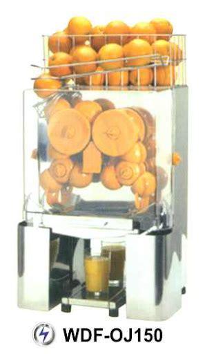 jual alat pemeras jeruk otomatis ukuran kecil orange presser wdf oj150 mesin mesin raya