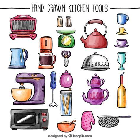 herramientas de cocina herramientas de cocina pintadas a mano descargar