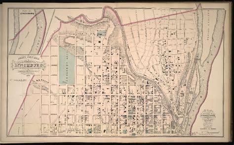 map of lynchburg virginia gray s new map of lynchburg va 1877 maps of virginia