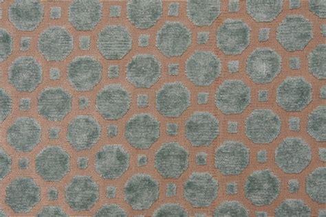 all upholstery robert allen velvet geo upholstery fabric in mineral