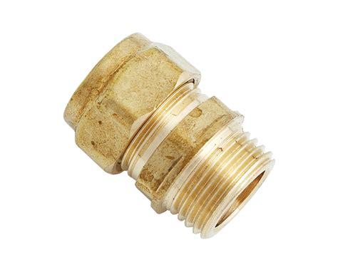 Piping And Plumbing Fittings by Uel 311 Compression Fitting Brass Pipe Fitting 1in