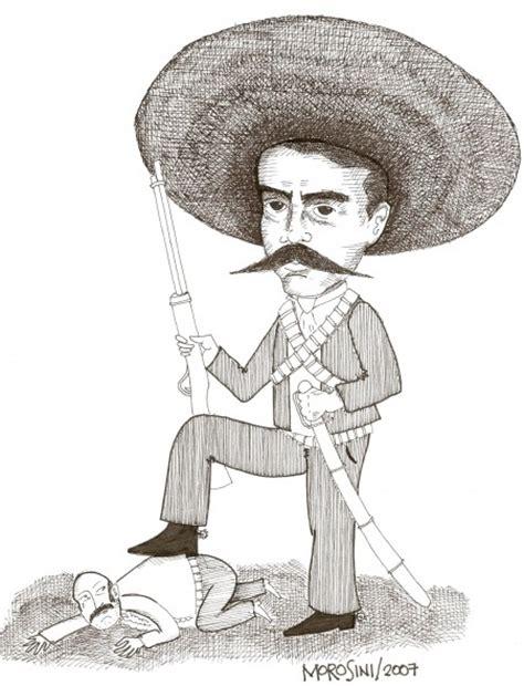 imagenes de emiliano zapata en blanco y negro emiliano zapata dibujo imagui