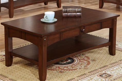 poundex f6286 brown wood coffee table a sofa