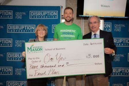 Gmu Mba Cost by Business Plan Competition Awards 10 000 To