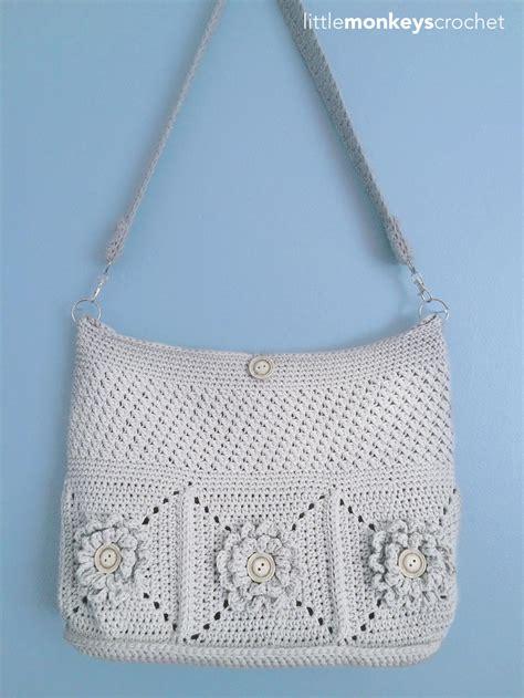 Home Decorating Tips For Beginners by Wildflower Shoulder Crochet Bag Allfreecrochet Com