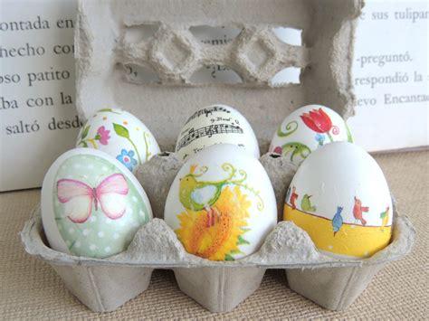 Decoupage Eggs - tazas cuentos huevos de pascua y decoupage easter