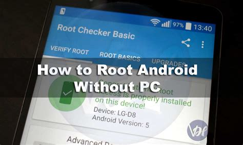 how to jailbreak android without computer how to root android phone without pc computer 2018 androidicu