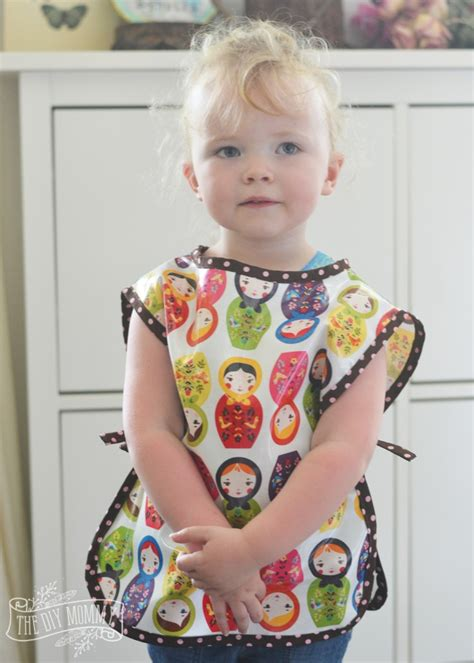 kindergarten smock pattern sew a simple preschool art smock the diy mommy