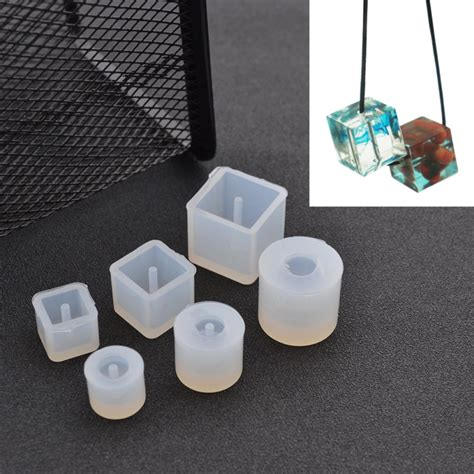 how to make a jewelry mold diy silicone mold transparent necklace pendant with