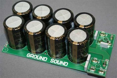 psu bleeder resistor ground sound