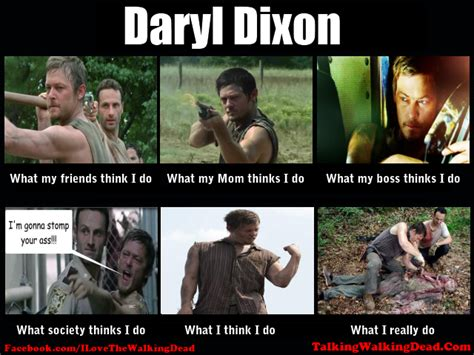 Daryl Walking Dead Meme - i think giving baby a sip of beer is funny so lay off me