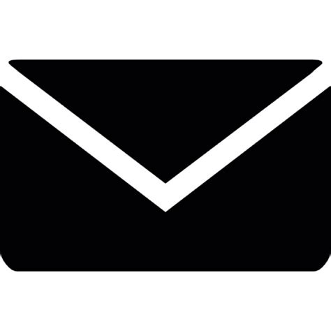 email icon black email envelope icons free download