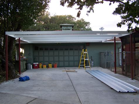 simple lean to carport 21 x22 san antonio