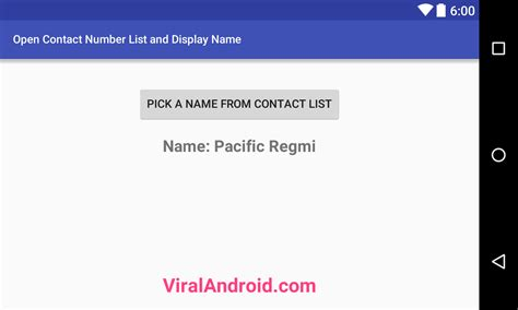 xml pattern email address how to open contact number list and display name in