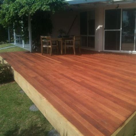 Mahogany Deck Stain by Deck Boards Merbau Deck Boards